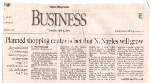 April business story April 2003