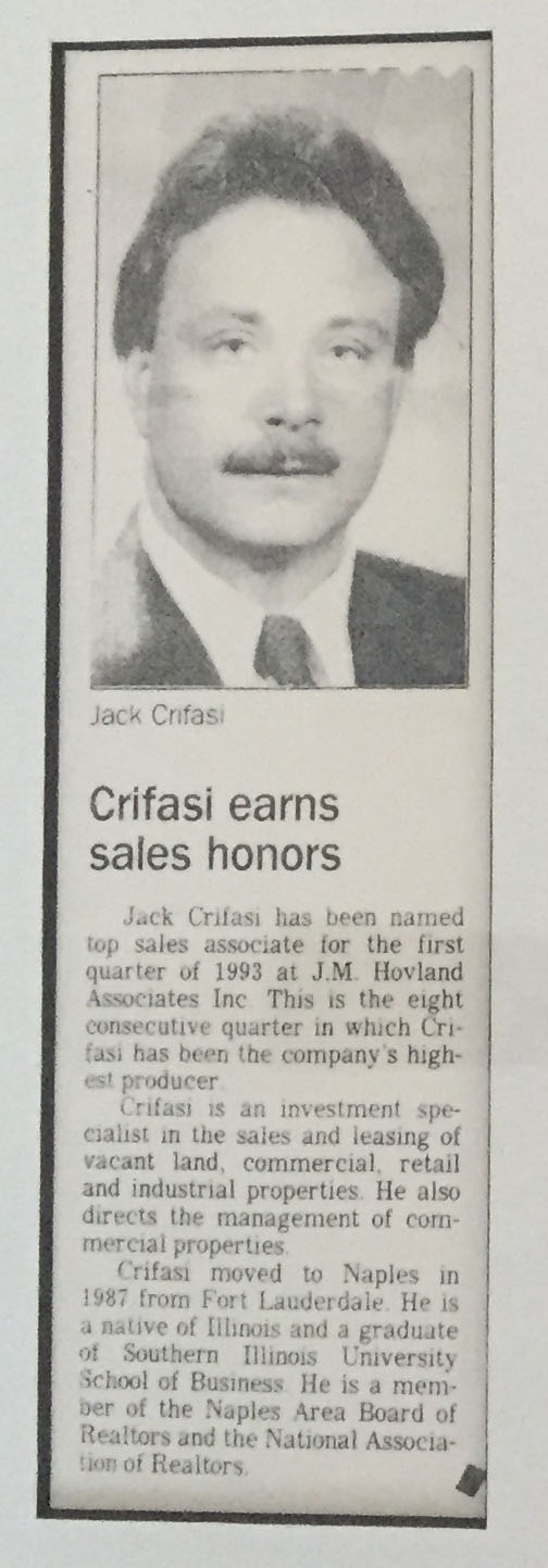 Crifasi Sales Leader